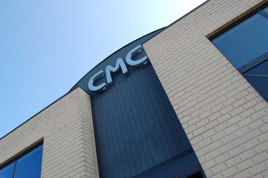 Webdesign voor CMC in Dessel
