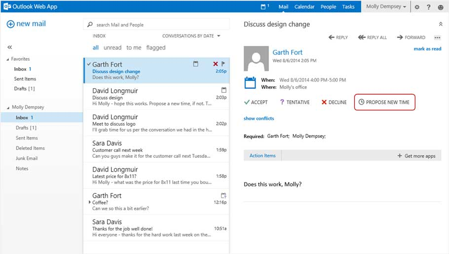 Outlook WebApp